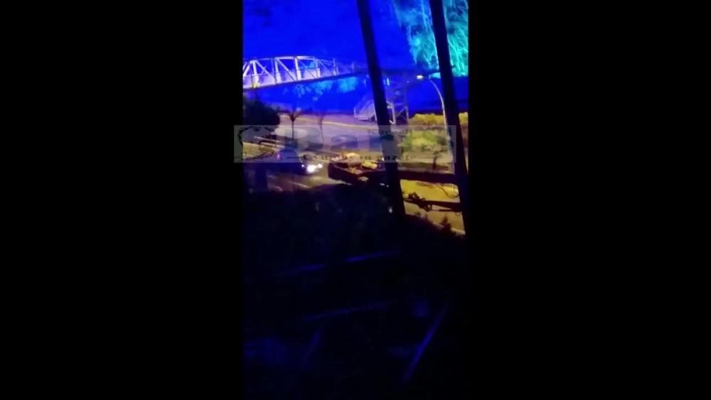 İzmit Ölüm Rampasında tehlikeli görüntü