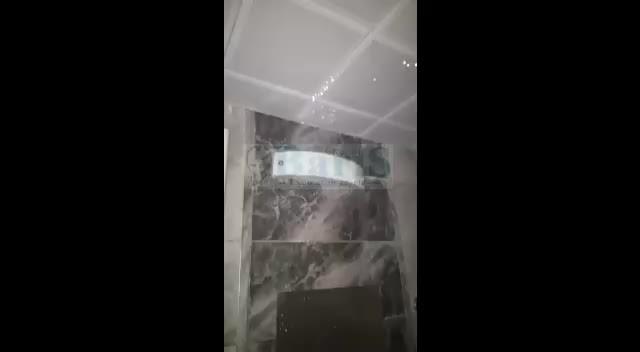 TOKİ'nin Gölcük Sivritepe'de yaptığı evlerin tavanı akıtıyor