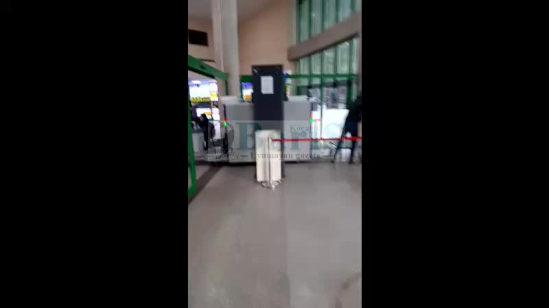 Kocaeli Büyükşehir Şehirler Arası Otobüs Terminali'nde koronavirüs önlemleri sıfır