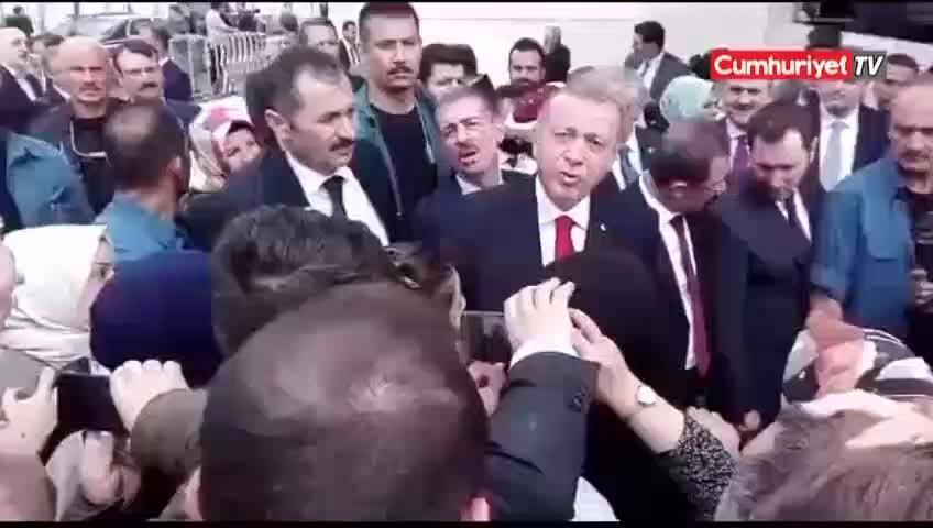 Erdoğandan işsiz kadına tepki çeken EYT cevabı
