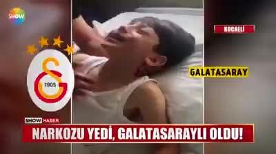 Koyu Beşiktaşlı çocuk, narkoz aldı, koyu Galatasaraylı oldu