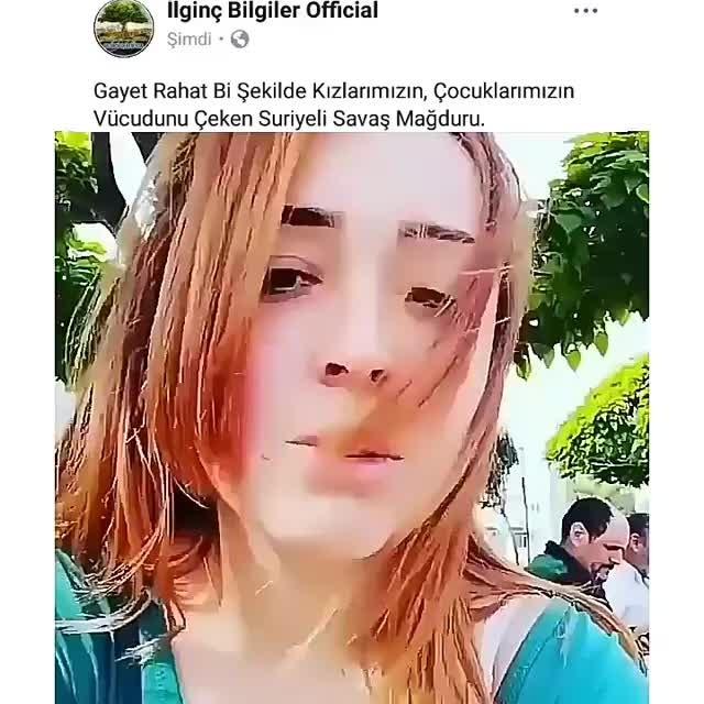 Suriyeli şahıs, genç kızı kayda alırken böyle teşhir edildi. İşte genç kızın tepkisi