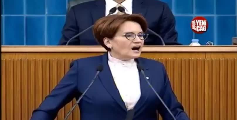 Partisinin grup toplantısında konuşan İYİ Parti Genel Başkanı Meral Akşener, - Cumhurbaşkanı Erdoğanın McKinsey ile ilgili açıklamaları hakkında,
